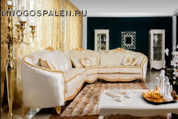 ДИВАН DOMINICA купить в салоне-студии мебели Барселона mnogospalen.ru много спален мебель Италии классические современные