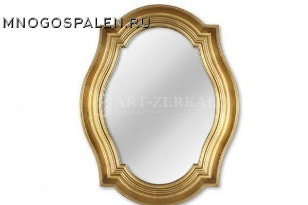 Зеркало в раме Casablanca Gold купить в салоне-студии мебели Барселона mnogospalen.ru много спален мебель Италии классические современные