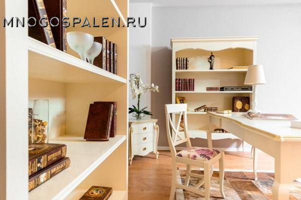 Кабинет LIRA купить в салоне-студии мебели Барселона mnogospalen.ru много спален мебель Италии классические современные