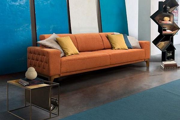 Диван BORMIO купить в салоне-студии мебели Барселона mnogospalen.ru много спален мебель Италии классические современные