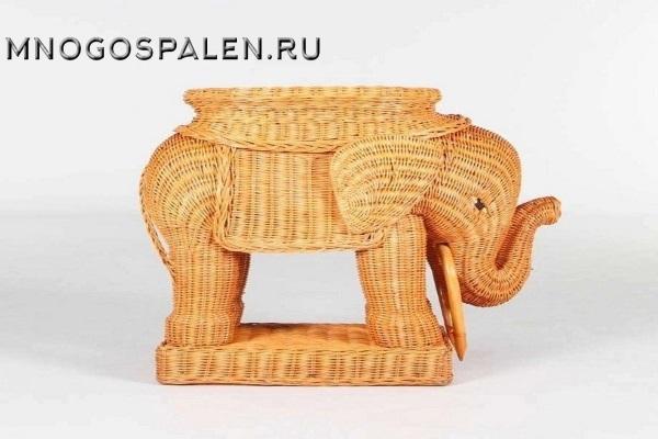 Подставка под телефон слон E-01 купить в салоне-студии мебели Барселона mnogospalen.ru много спален мебель Италии классические современные