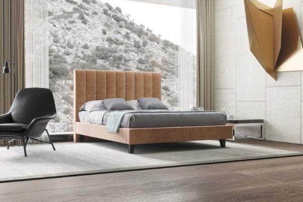 Кровать MARLEN L купить в салоне-студии мебели Барселона mnogospalen.ru много спален мебель Италии классические современные