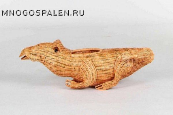 Декоративный элемент - цветочница (Крокодил) С-01 купить в салоне-студии мебели Барселона mnogospalen.ru много спален мебель Италии классические современные