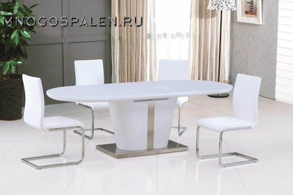 Стол Berkli White купить в салоне-студии мебели Барселона mnogospalen.ru много спален мебель Италии классические современные