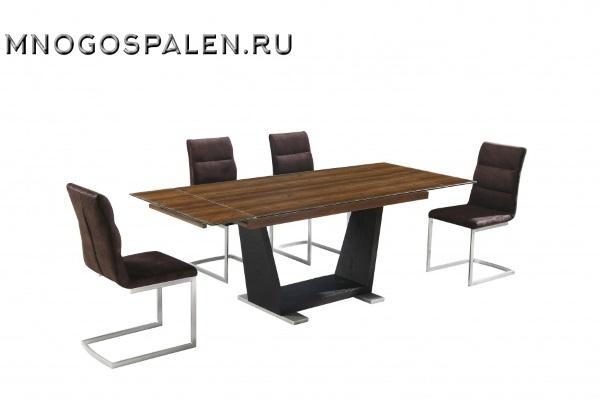 СТОЛ MK-5701-BR купить в салоне-студии мебели Барселона mnogospalen.ru много спален мебель Италии классические современные