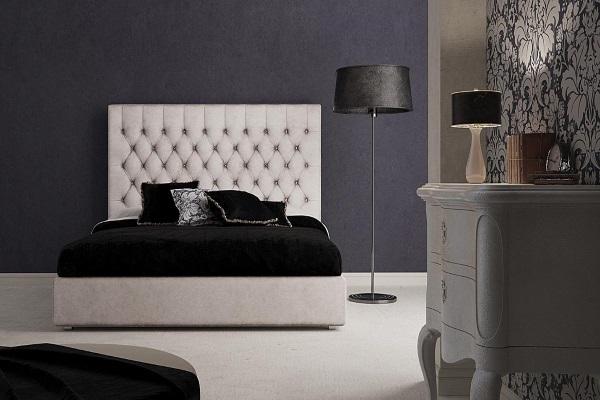 Кровать  Fioravante купить в салоне-студии мебели Барселона mnogospalen.ru много спален мебель Италии классические современные