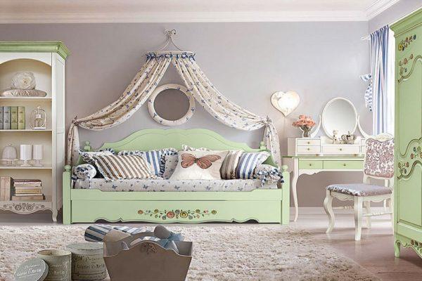 Детская «Шенонсо» купить в салоне-студии мебели Барселона mnogospalen.ru много спален мебель Италии классические современные