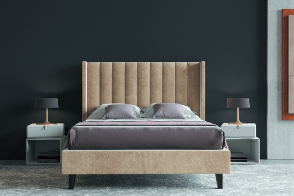 Кровать DARLING L купить в салоне-студии мебели Барселона mnogospalen.ru много спален мебель Италии классические современные