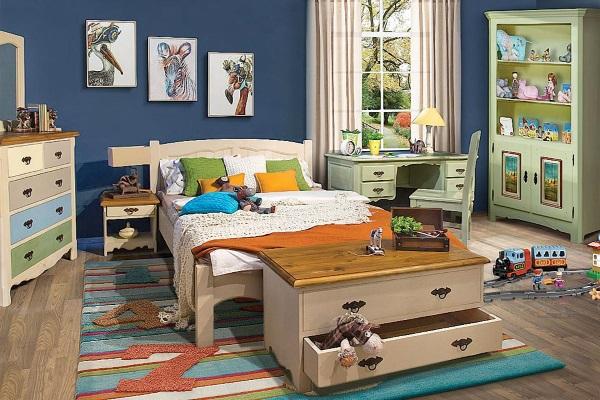 Детская «Трувиль» купить в салоне-студии мебели Барселона mnogospalen.ru много спален мебель Италии классические современные