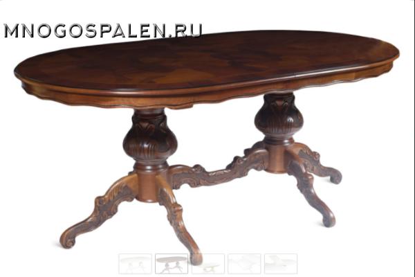 Стол обеденный 115 купить в салоне-студии мебели Барселона mnogospalen.ru много спален мебель Италии классические современные