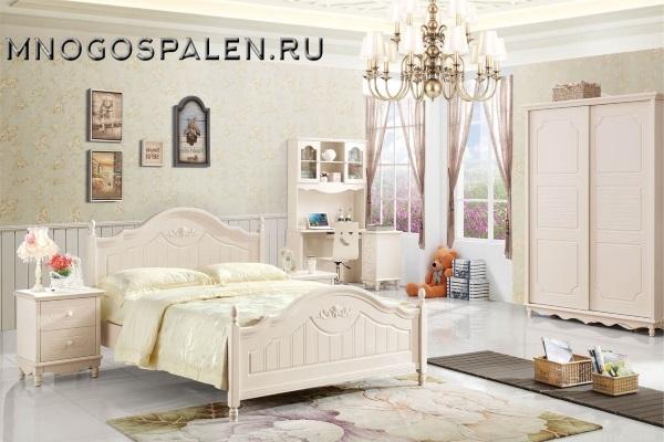 Спальня Rosaline MK-4610-IV купить в салоне-студии мебели Барселона mnogospalen.ru много спален мебель Италии классические современные