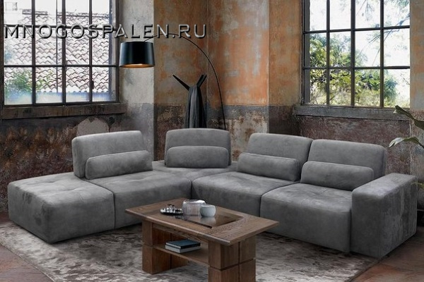 Диван БАКСТЕР купить в салоне-студии мебели Барселона mnogospalen.ru много спален мебель Италии классические современные