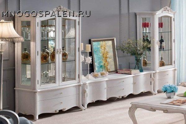 Гостиная Maris купить в салоне-студии мебели Барселона mnogospalen.ru много спален мебель Италии классические современные