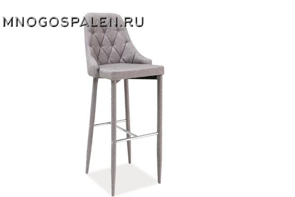 Стул барный MC01-2B Grey купить в салоне-студии мебели Барселона mnogospalen.ru много спален мебель Италии классические современные