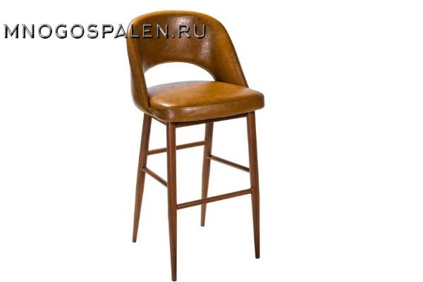 Кресло барное Lars Brown купить в салоне-студии мебели Барселона mnogospalen.ru много спален мебель Италии классические современные