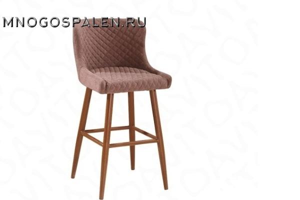 Стул барный MC15B  Brown купить в салоне-студии мебели Барселона mnogospalen.ru много спален мебель Италии классические современные