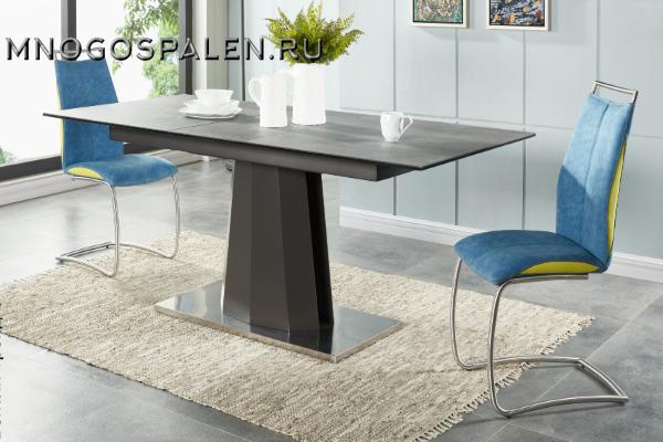 Стол SH-120 Grey купить в салоне-студии мебели Барселона mnogospalen.ru много спален мебель Италии классические современные