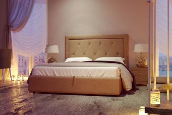 Кровать Fredo купить в салоне-студии мебели Барселона mnogospalen.ru много спален мебель Италии классические современные