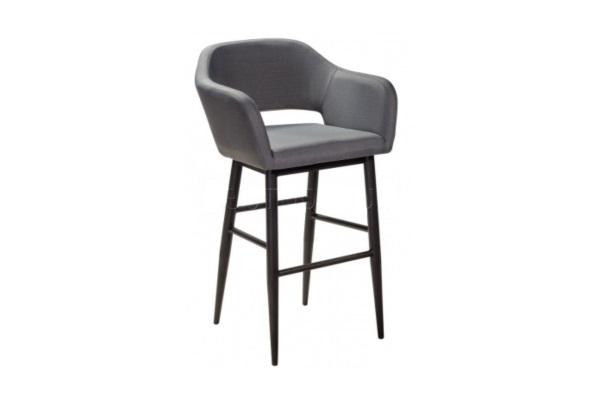 Кресло барное Oscar Grey купить в салоне-студии мебели Барселона mnogospalen.ru много спален мебель Италии классические современные