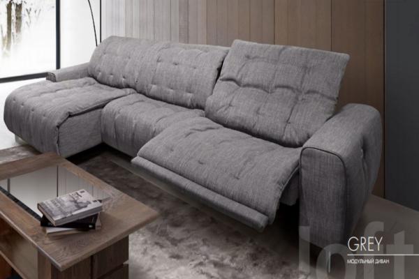Диван ГРЕЙ купить в салоне-студии мебели Барселона mnogospalen.ru много спален мебель Италии классические современные
