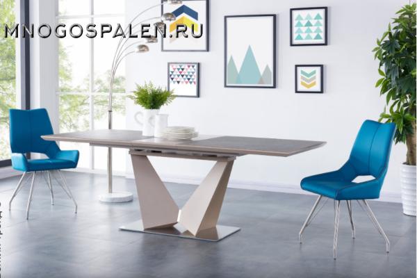 Стол SH-110 Brown купить в салоне-студии мебели Барселона mnogospalen.ru много спален мебель Италии классические современные