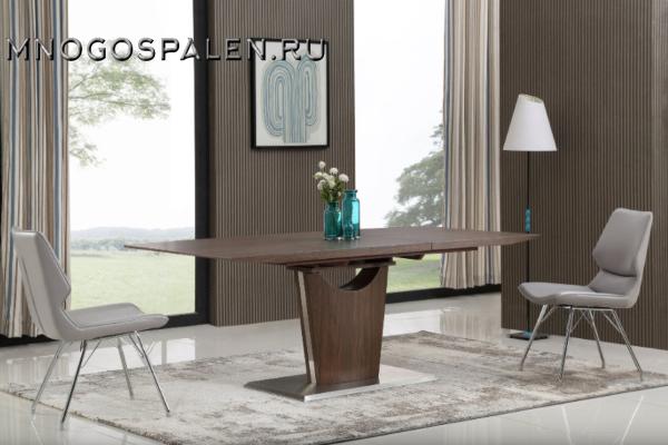 Стол обеденный SH-160 Walnut купить в салоне-студии мебели Барселона mnogospalen.ru много спален мебель Италии классические современные