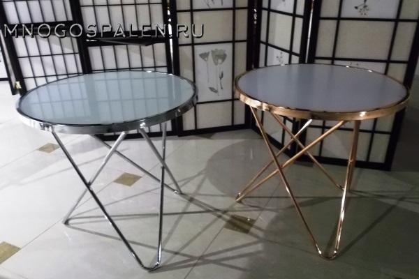 Журнальный столик MK-2373-BR купить в салоне-студии мебели Барселона mnogospalen.ru много спален мебель Италии классические современные