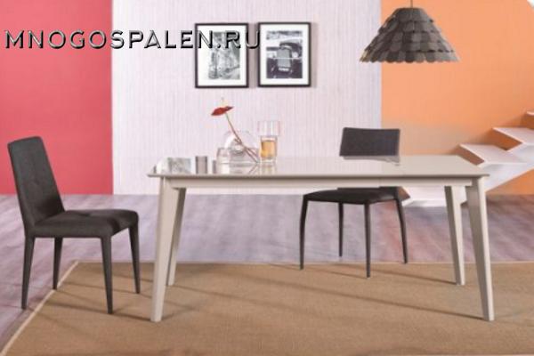 СТОЛ MK-5904-LG купить в салоне-студии мебели Барселона mnogospalen.ru много спален мебель Италии классические современные