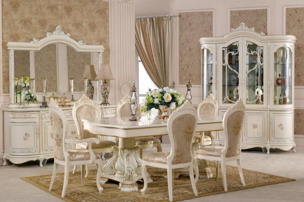 Гостиная КОРОЛЕВА 3876 купить в салоне-студии мебели Барселона mnogospalen.ru много спален мебель Италии классические современные
