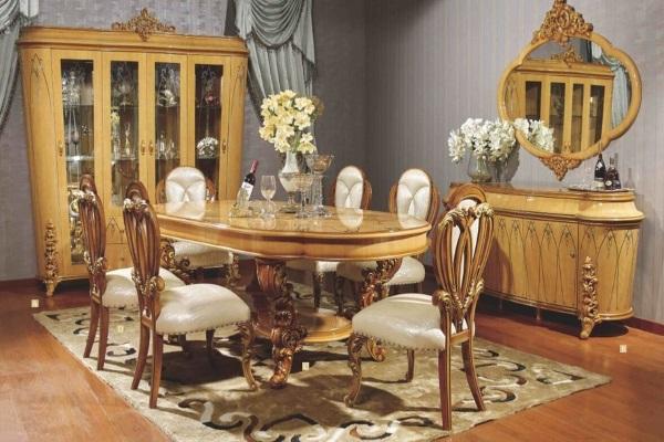 Гостиная Клеопатра 3901D купить в салоне-студии мебели Барселона mnogospalen.ru много спален мебель Италии классические современные