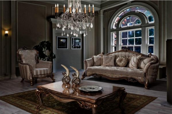 Диван Каролин купить в салоне-студии мебели Барселона mnogospalen.ru много спален мебель Италии классические современные