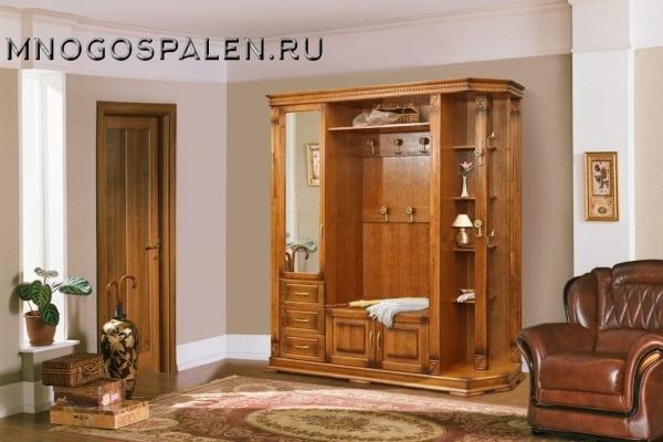 Прихожая «Верди» #1 купить в салоне-студии мебели Барселона mnogospalen.ru много спален мебель Италии классические современные