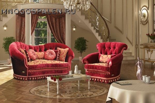 Диван Версаль купить в салоне-студии мебели Барселона mnogospalen.ru много спален мебель Италии классические современные
