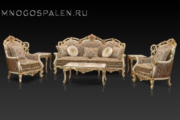 Диван Бергамо купить в салоне-студии мебели Барселона mnogospalen.ru много спален мебель Италии классические современные