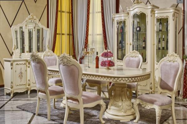 Гостиная 613 светлая купить в салоне-студии мебели Барселона mnogospalen.ru много спален мебель Италии классические современные