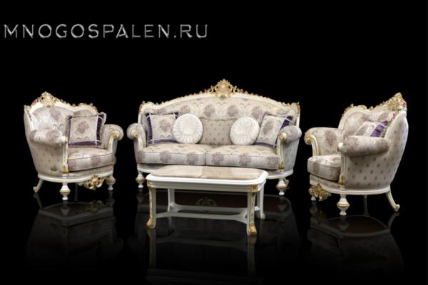 Диван Александрия купить в салоне-студии мебели Барселона mnogospalen.ru много спален мебель Италии классические современные