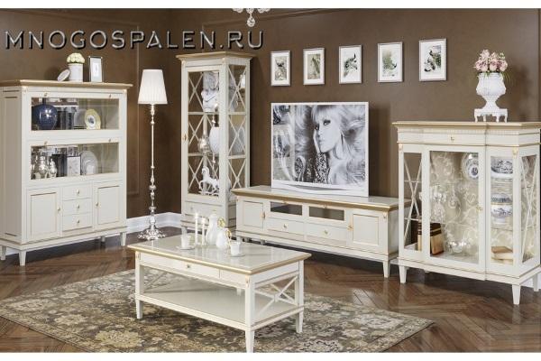 ГОСТИНАЯ VERONA купить в салоне-студии мебели Барселона mnogospalen.ru много спален мебель Италии классические современные