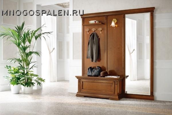Прихожая Palazzo Ducale ciliegio купить в салоне-студии мебели Барселона mnogospalen.ru много спален мебель Италии классические современные