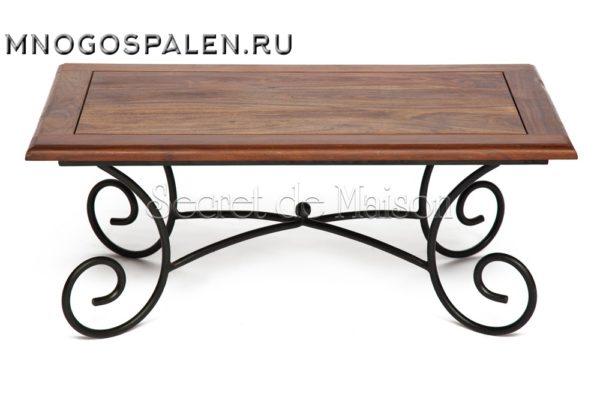 Кофейный столик Secret De Maison Luberon (mod 6) купить в салоне-студии мебели Барселона mnogospalen.ru много спален мебель Италии классические современные