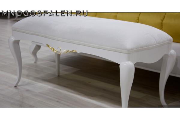 БАНКЕТКА ISOLDA купить в салоне-студии мебели Барселона mnogospalen.ru много спален мебель Италии классические современные