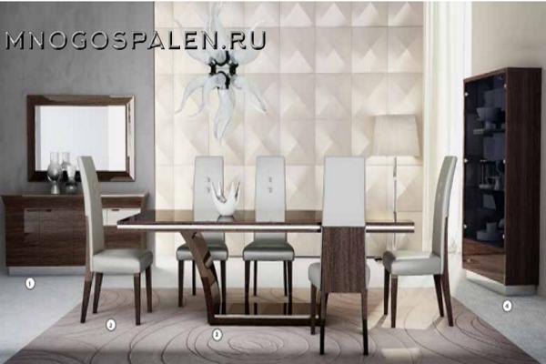 Гостиная KOURTNEY купить в салоне-студии мебели Барселона mnogospalen.ru много спален мебель Италии классические современные