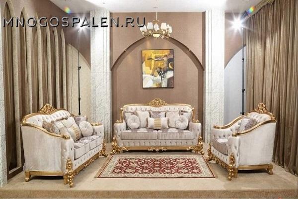 Диван Monarch I купить в салоне-студии мебели Барселона mnogospalen.ru много спален мебель Италии классические современные