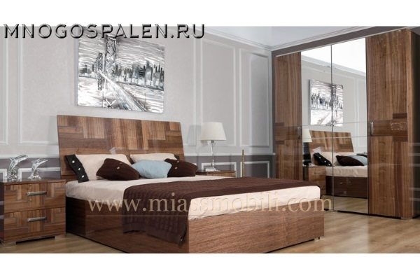 купить спальня Canaletto Miassmobili салон итальянский мебели