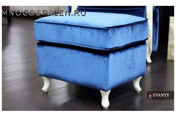 ПУФ MAJORCA купить в салоне-студии мебели Барселона mnogospalen.ru много спален мебель Италии классические современные