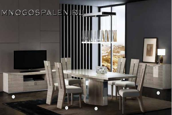 Гостиная DAPHNE купить в салоне-студии мебели Барселона mnogospalen.ru много спален мебель Италии классические современные