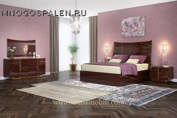 Спальня Mirella MiassMobili купить в салоне-студии мебели Барселона mnogospalen.ru много спален мебель Италии классические современные