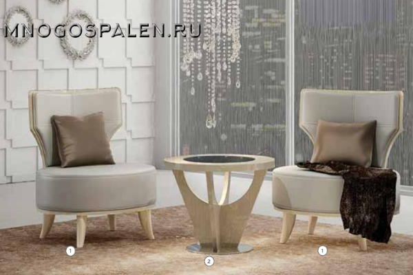 Кресло JESSIE купить в салоне-студии мебели Барселона mnogospalen.ru много спален мебель Италии классические современные