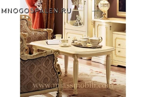 Стол журнальный Floriana MiassMobili купить в салоне-студии мебели Барселона mnogospalen.ru много спален мебель Италии классические современные