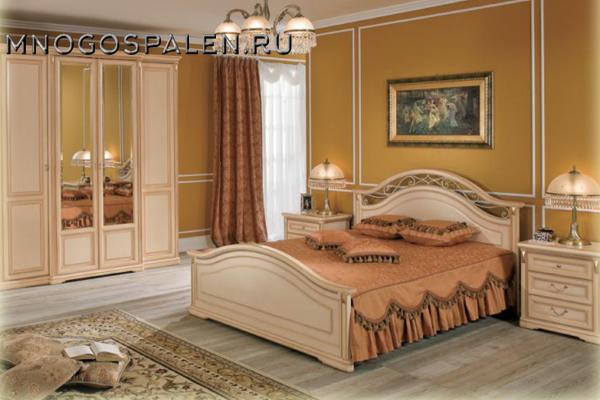 купить спальня Joconda крем Miassmobili салон итальянский мебели