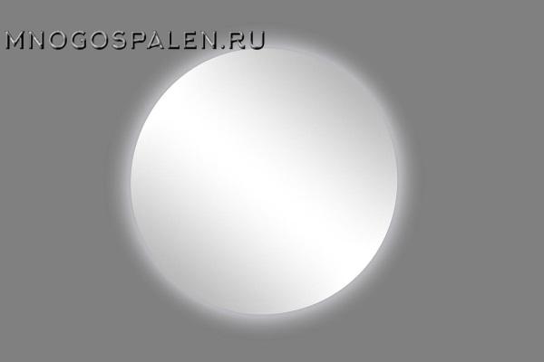 Зеркало с подсветкой круглое 17-AB01 купить в салоне-студии мебели Барселона mnogospalen.ru много спален мебель Италии классические современные